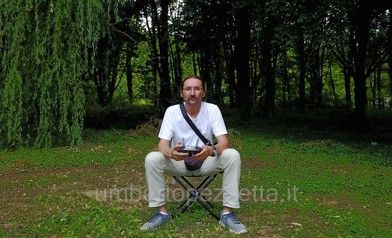 Drónpilóta, Umberto Pezzetta, Zalaegerszeg, Hungary