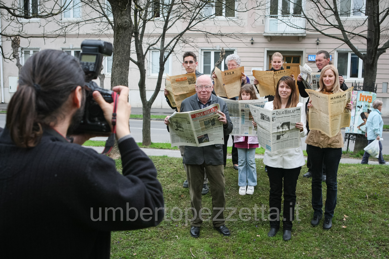 Készül a reklámfotó, Zalaegerszeg, Hungary