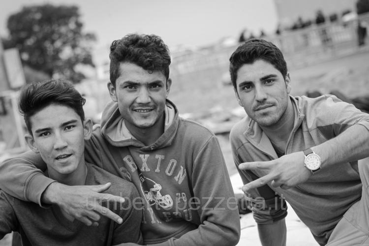 Szíriai menekültek, Szentgotthárd, Hungary